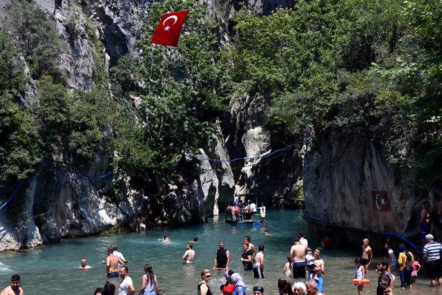 Mersin'in saklı cenneti: Kisecik Kanyonu