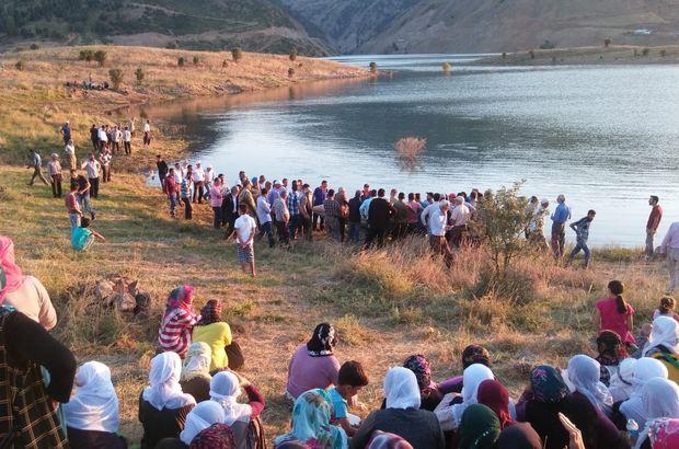 Bingöl'de fotoğraf çekerken baraj gölüne düşen genç kayboldu