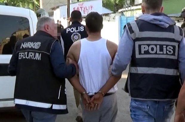 Polis ekipleri drone takibiyle yakaladı