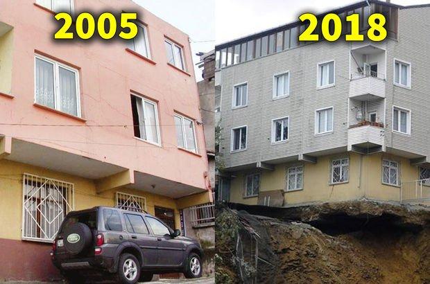 Sütlüce'de yıkılan binayla ilgili çarpıcı detay! Fotoğraflar ortaya çıktı