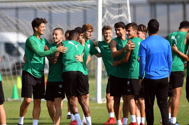 Bursaspor'da yeni sezon hazırlıkları sürdürüyor