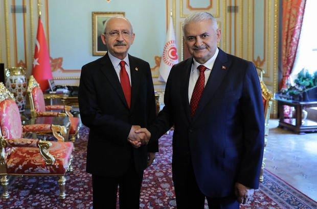 Kılıçdaroğlu'ndan Binali Yıldırım'a 'Berberoğlu' ziyareti