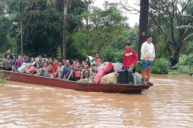 Laos'ta baraj çöktü: 19 ölü, binlerce kayıp