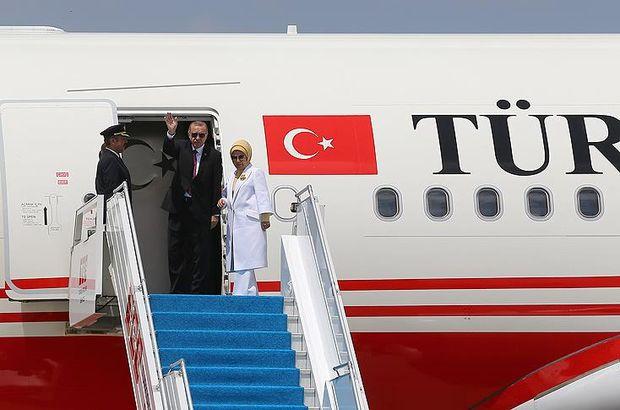 Cumhurbaşkanı Erdoğan Güney Afrika'ya gitti
