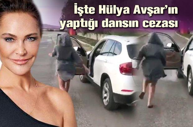 Hülya Avşar'ın yaptığı dansın cezası belli oldu - Magazin haberleri