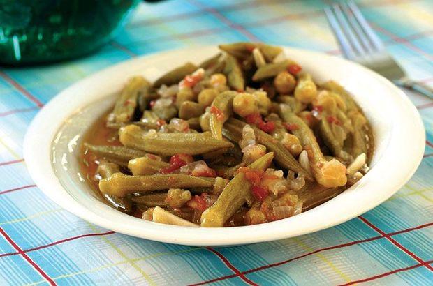 Zeytinyağlı bamya yemeği tarifi: Bamya yemeği nasıl yapılır, kaç kaloridir?