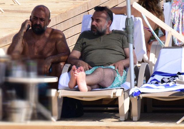 Oktay Kaynarca'nın Bodrum tatili devam ediyor - Magazin haberleri