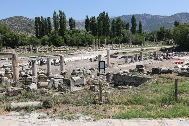 """""""Roma'nın en estetik eserleri Afrodisyas'tan çıktı"""""""