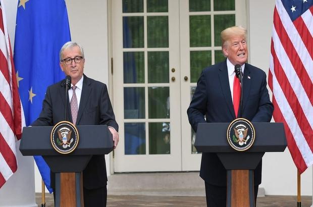 ABD Başkanı Trump: Avrupa Birliği'yle gümrükleri karşılıklı kaldırmak için çalışacağız