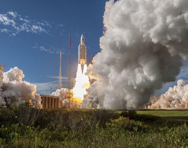 Galileo projesine tam gaz devam! AB yörüngeye 4 uydu gönderdi