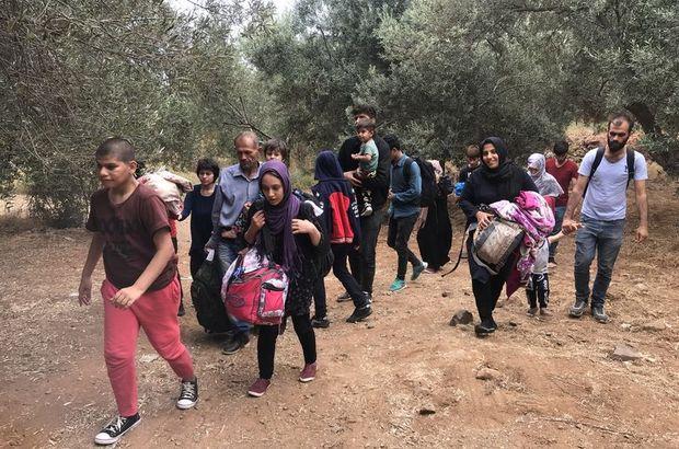 Son dakika: Yunanistan'a kaçmaya çalışan 40 Afgan yakalandı