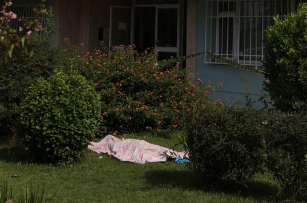 Apartmanın bahçesinde ölü bulundu