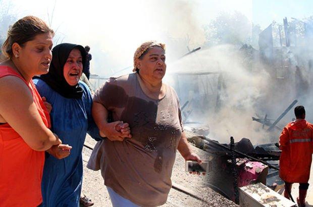 Zonguldak'ta ev yangını! Yardım parasıyla yapılmıştı