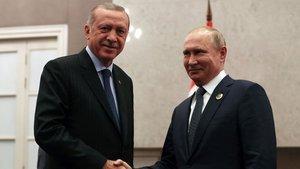 Erdoğan: Rusya ile ilişkilerimizi birilerini gerçekten kıskandırıyor