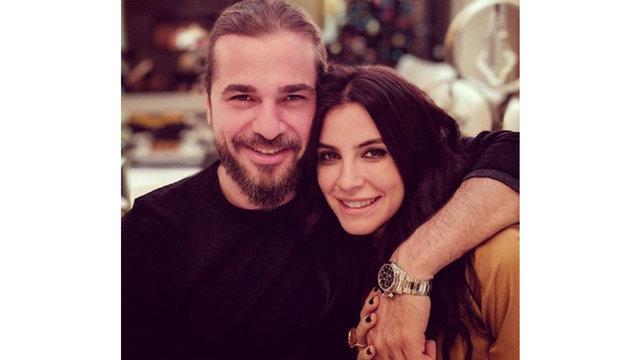 Neslişah Alkoçlar'dan eşi Engin Altan Düzyatan'a romantik doğum günü kutlaması - Magazin haberleri