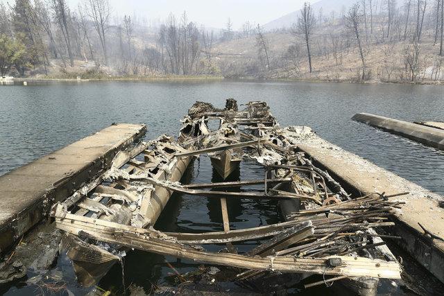 Kaliforniya'daki orman yangını kontrol altına alınamadı!