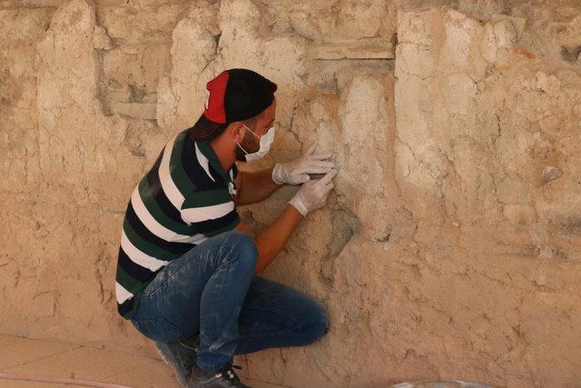 Freskli travertenler 1500 yıllık uykudan uyandı
