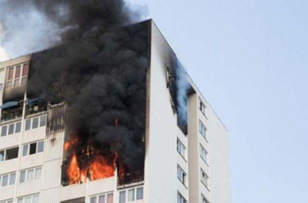 Universitet binasında baş verən yanğın söndürüldü