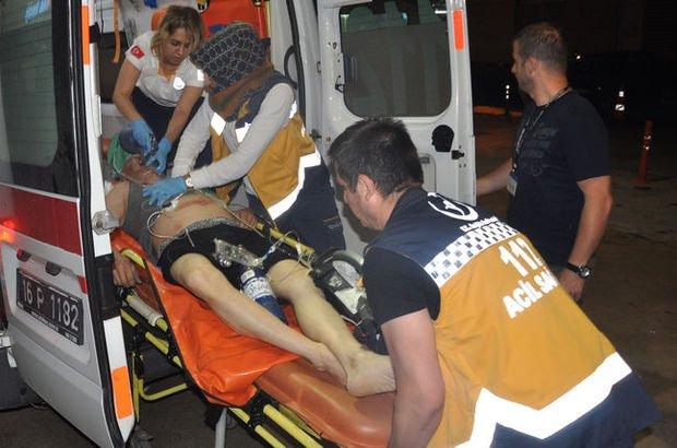 Bursa'da apartmanda yağmur suyunu temizlerken akıma kapılıp öldü
