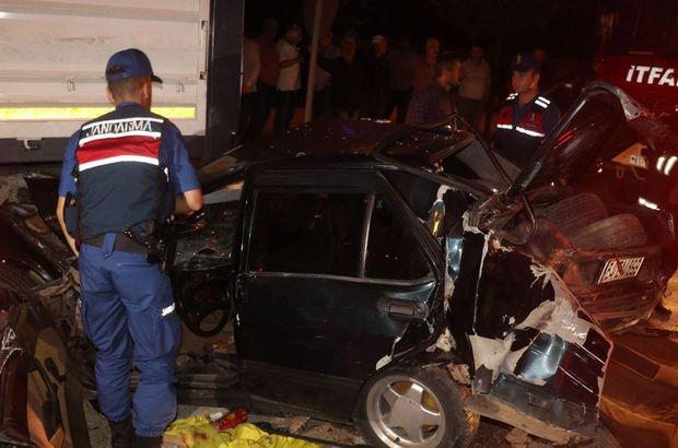 Düzce'de zincirleme trafik kazası