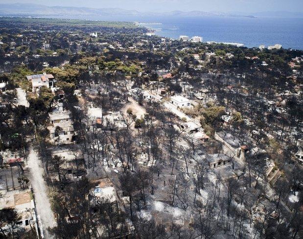 Atina'daki yangın kasten mi çıkarıldı?