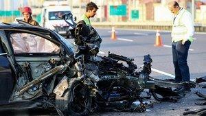Başakşehir'de korkunç kaza!