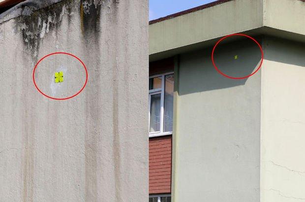 O binalar böyle işaretlendi!
