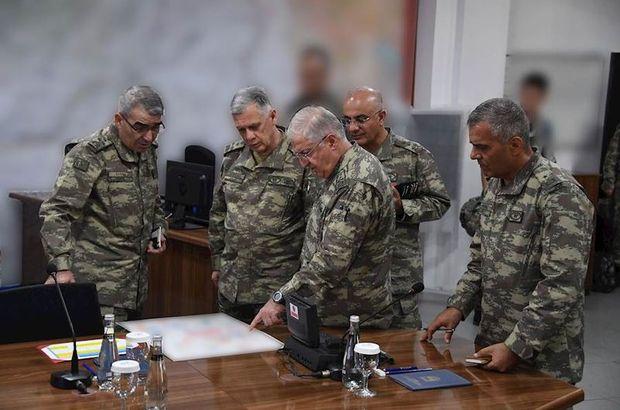 Son dakika: Komutanlardan 1. Ordu Komutanlığı'na ziyaret