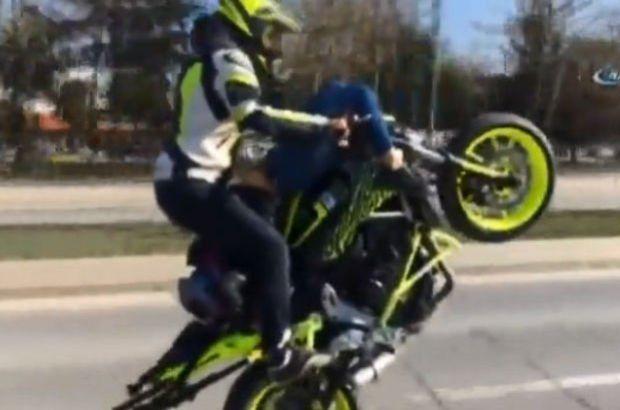 O motosikletçi yakalandı: 'Kız arkadaşımın gazına geldim'