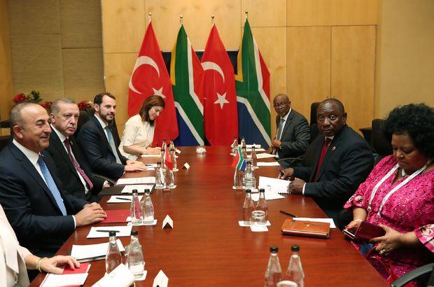 Güney Afrika, Türkiye ile ikili ilişkileri arttıracak