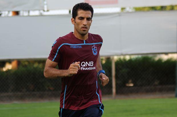 Trabzonspor'da Vahid Amiri ilk kez antrenmana çıktı
