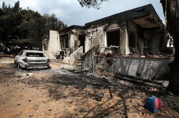 Yunanistan'daki yangında ölü sayısı 87'ye yükseldi
