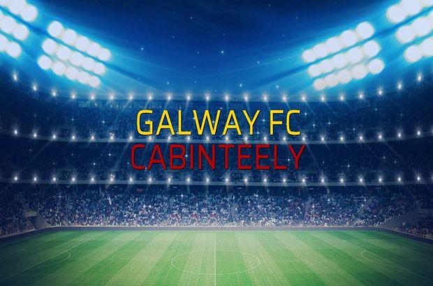 Galway FC - Cabinteely maçı rakamları