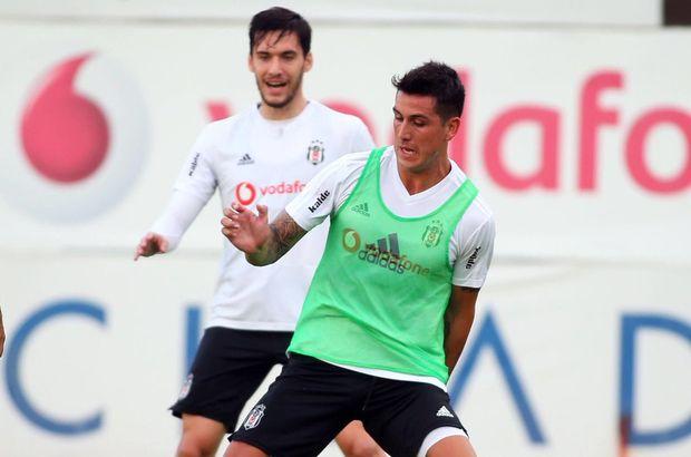 Beşiktaş'ta Enzo Roco ve Umut Nayir antrenmana çıktı