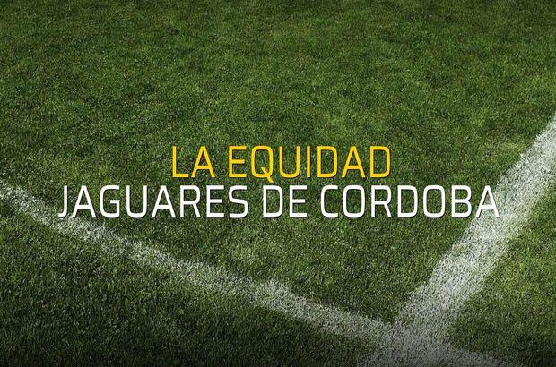 La Equidad - Jaguares De Cordoba maçı heyecanı