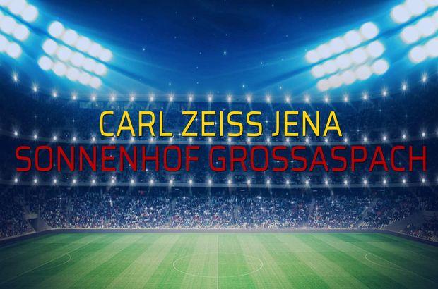 Carl Zeiss Jena - Sonnenhof Grossaspach rakamlar