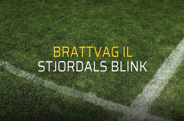 Brattvag IL - Stjordals Blink rakamlar