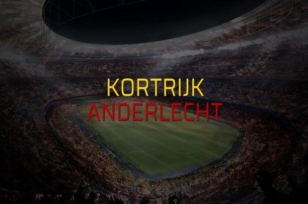 Kortrijk - Anderlecht maç önü