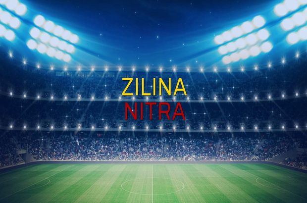 Zilina - Nitra maçı istatistikleri