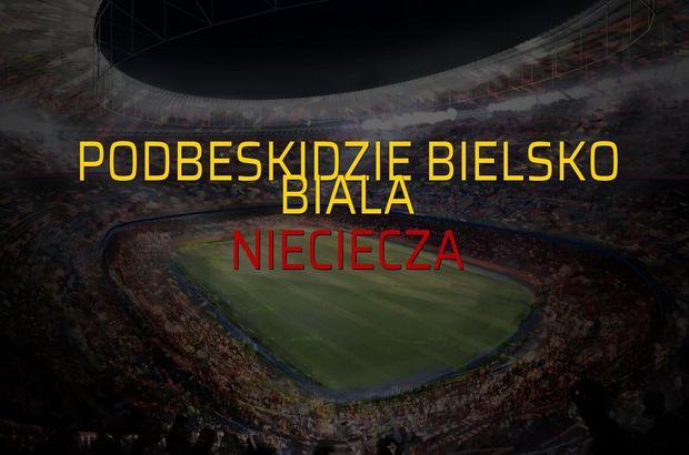 Podbeskidzie Bielsko Biala - Nieciecza rakamlar