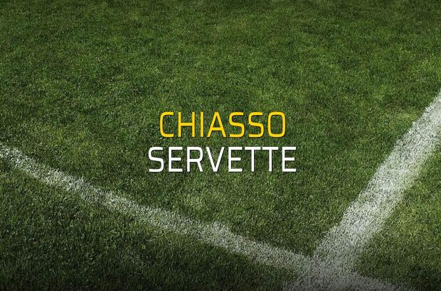 Chiasso - Servette maçı istatistikleri