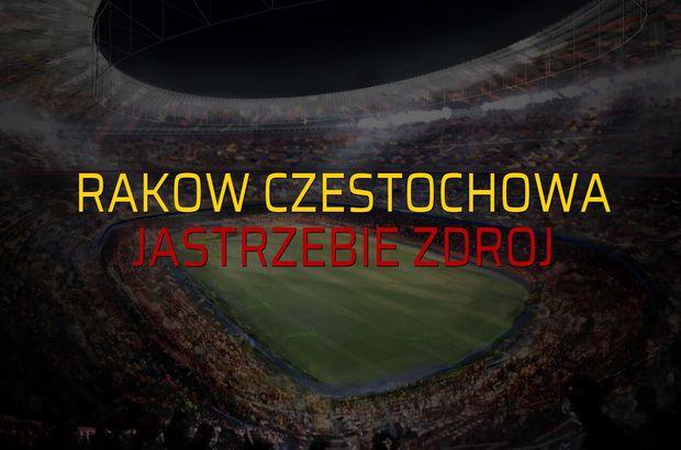 Rakow Czestochowa - Jastrzebie Zdroj rakamlar