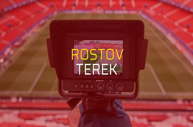 Rostov - Terek maçı ne zaman?