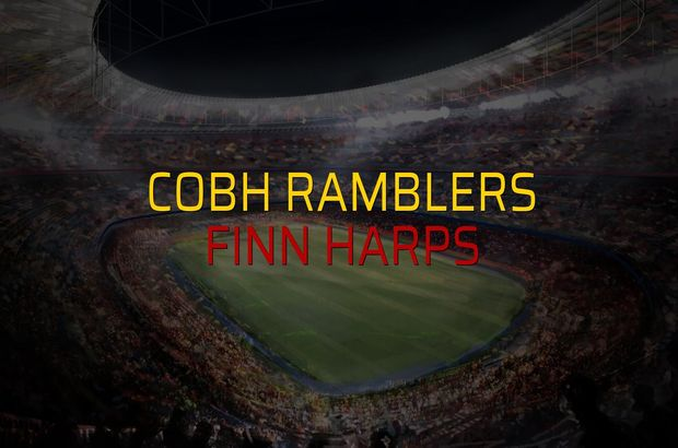 Cobh Ramblers - Finn Harps maçı rakamları