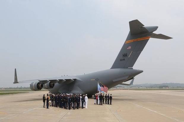 Kuzey Kore ABD askerlerinin naaşlarını iade etti