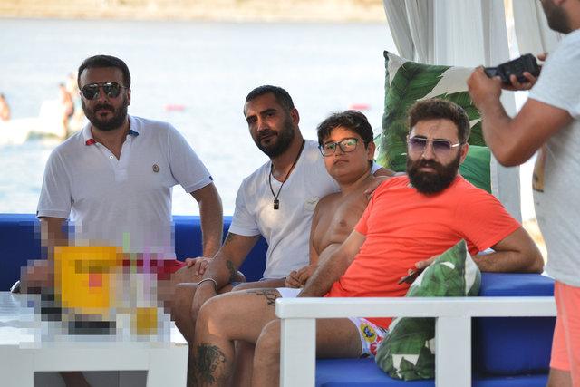 Pascal Nouma ile Ümit Karan tatilde - Magazin haberleri