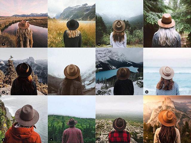 Seyahat blogger'larının tipik Instagram profili nasıl olur?
