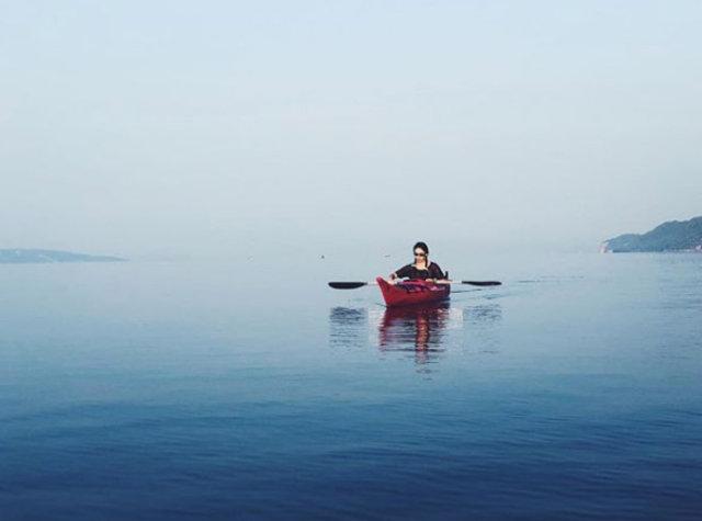 Kadir Doğulu ile Neslihan Atagül doğayla iç içe tatil yapıyor - Magazin haberleri