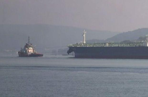 Yunanistan bandıralı gemi arızalandı! Boğaz kapatıldı...