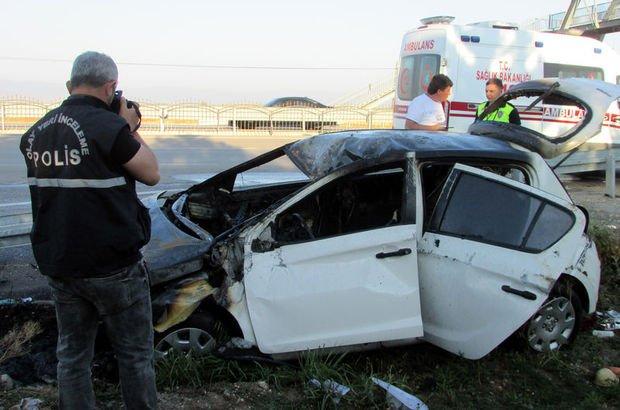 Feci kaza! Almina bebek öldü, annesi, babası ve ağabeyi yaralı